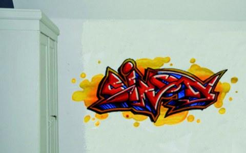 kinderkamer graffiti simon